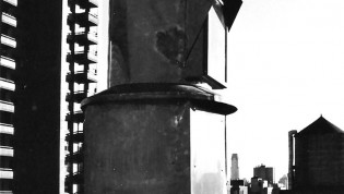 Photo of turret of the George T. Keene designed and built New York City camera obscura installed for a private individual.