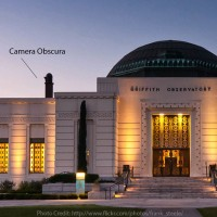 Photo of Photo of Griffith Observatory showing the Keene Camera Obscura -  Credit: http://www.flickr.com/photos/frank_steele/