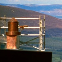 Photo of panoramic view of the Cairngorms National Park mountains camera obscura installation