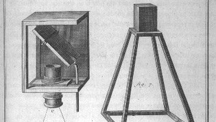Illustration of some old camera obscuras
